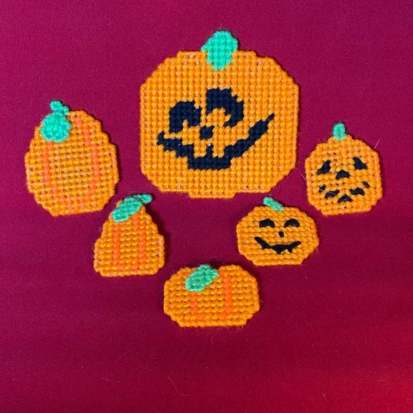 Vintage Halloween magnets